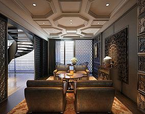 3D Livingroom Interior design vtc2