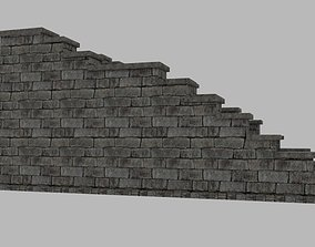 3D model Castle Stairs