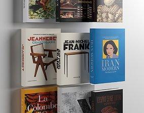 Books 07 3D model