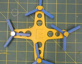 Toy Quadcopter 3D printable model