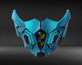 Bio Armor Custom Mask Fan Art 3D print model