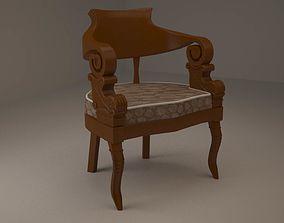 modern chair living-room Chair 3D
