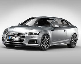 Audi A5 Coupe 2017 3D