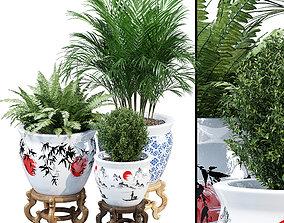 Porcelain plants 3D model