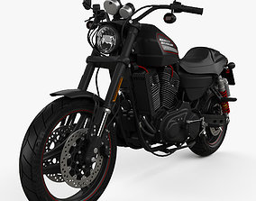 Harley-Davidson Sportster XR1200X 2012 3D