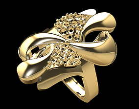 3D print model Gold Ring 211
