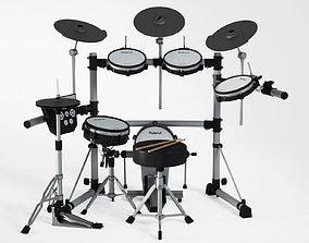 Electronic drum set 3D model
