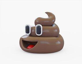 Emoji Poop 3D model