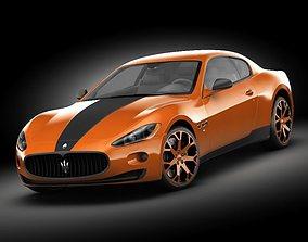 3D Maserati GT Masonry mod