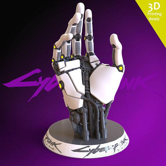 Cyberpunk 2077 3D printing ready fanart