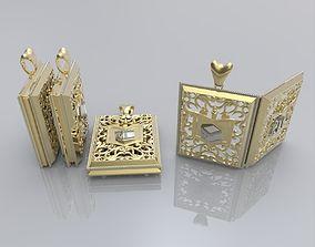 Muslim pendant 3D print model