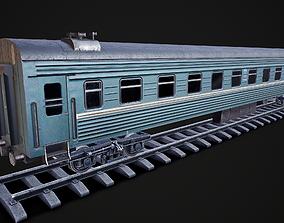 Russian coach 3D asset
