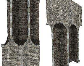 3D model Gatehouse 01 Pillar 07