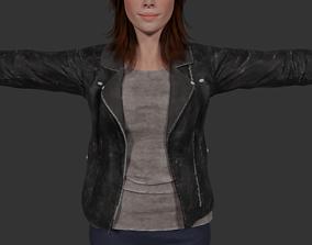 3D Female Character Model - Daniela