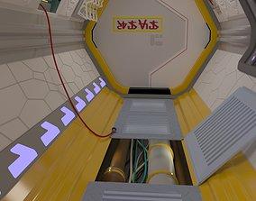 3D model VR / AR ready Space module