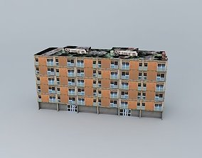 Caprag building 1 of 3 3D model