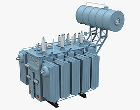 3D model Electrical Transformer 3