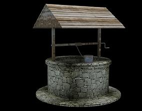 3D asset Old Well