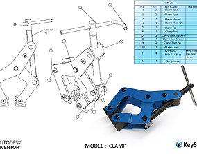 robot 3D model Clamp