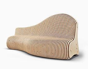 furniture Parametric bench 3D