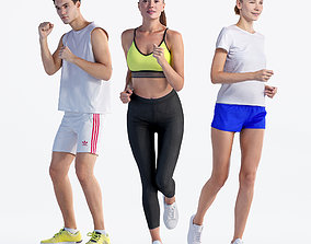 Bundle Sports 001 3D model