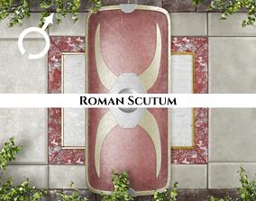 3D model Ancient Roman Scutum