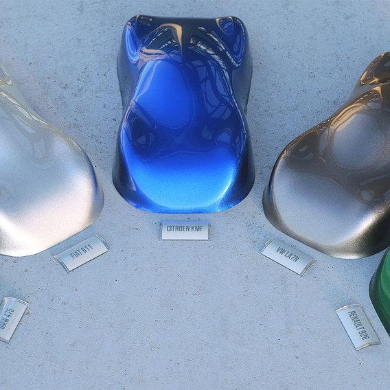 Metallic carpaints for Maxwell Render
