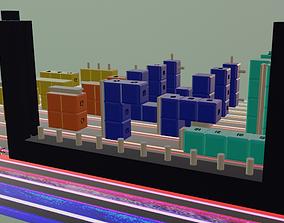 Tetris Didactic game 3D printable model