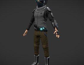 Sci fi Man 3D model