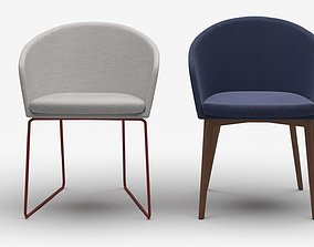 3D model capdell moon chair