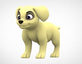 Labrador Puppy 3D asset