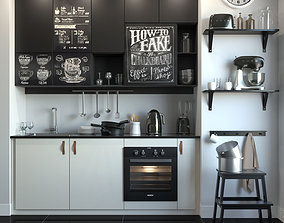 Kitchen IKEA 3D model
