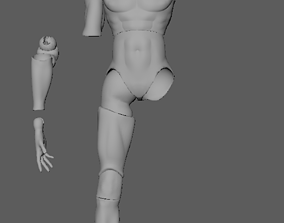 3D Printable Male BJD Ball Jointed Doll