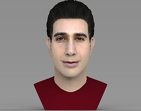 Ross Geller from Friends bust ready for full color 3D 1