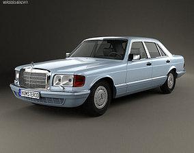 3D model Mercedes-Benz S-Class W126 1979