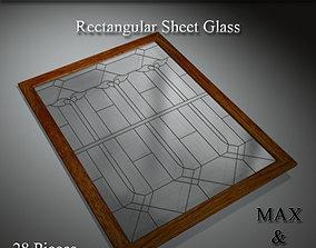 Art Glass Set 01 3D model