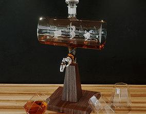 Constellation 1797 decanter 3D