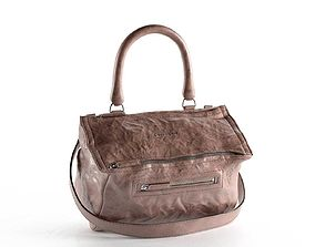 Pandora Medium Leather Satchel Bag 3D model