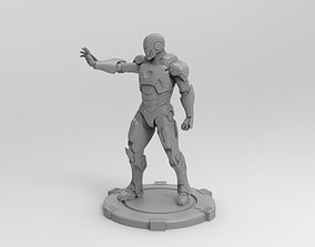 3D printable model shield Iron Man