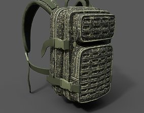 3D model Military Backpack scifi