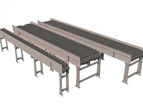 3D Conveyor Belt Animated