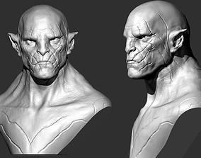 3D print model Azog Bust