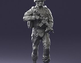 3D model Warrior 0303-2