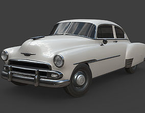 3D model Chevrolet Fleetline 1951