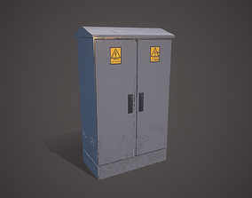 Electric Control Panel 3D asset