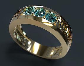 3D print model Ring platinum matrix