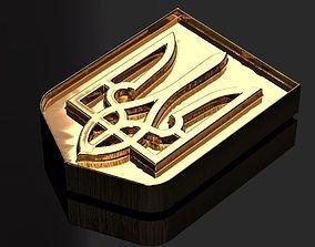 3D print model emblem of Ukraine