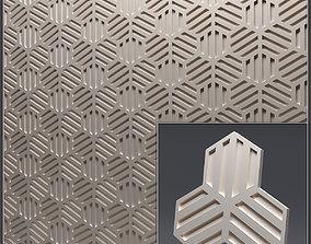 Gypsum 3D panel 13