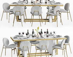3D Dinning Set 20
