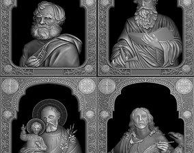 3D printable model Saints collection - V02